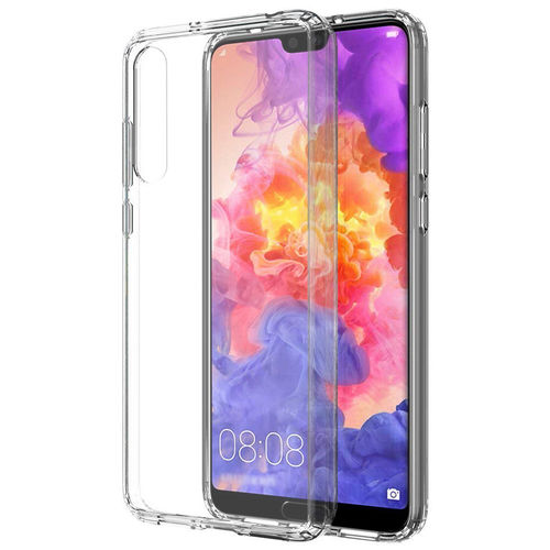 Hybrid Acrylic Flexi Frame Hard Back Case for Huawei P20 Pro - Clear